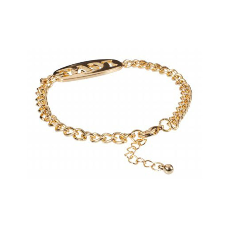 MESSAGE PENDANT CHAIN BRACELET - product image