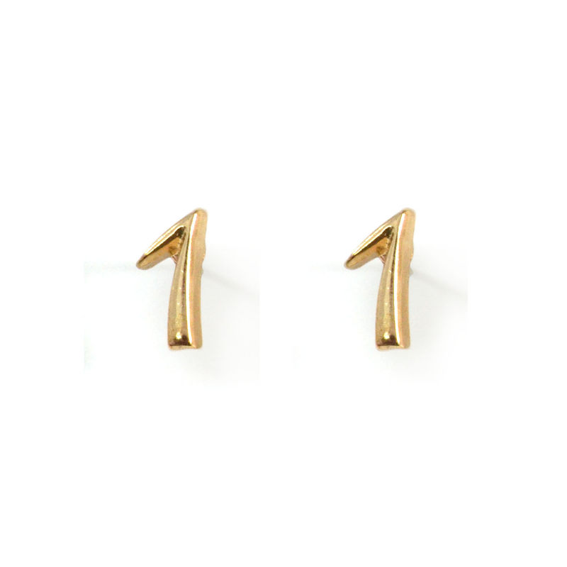 LUCKY NUMBER EARRINGS - product image