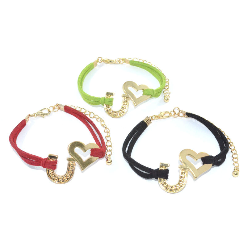 LOVE U COLOUR STRAP BRACELET - product image
