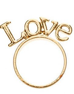 LOVE STAND RING - product image