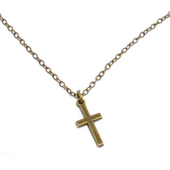 LITTLE CROSS NECKLACE - product image