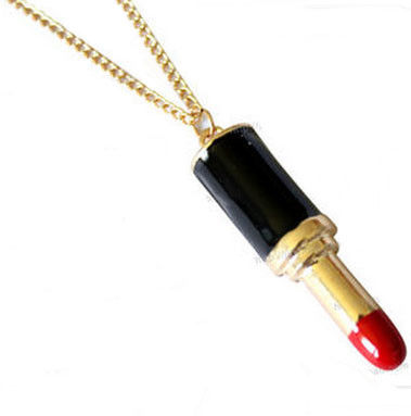 LIPSTICK,NECKLACE