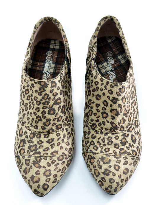 LEOPARD PRINT HEELS - product image