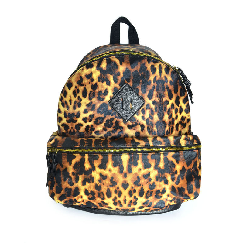 LEOPARD PRINT BACKPACK - product image