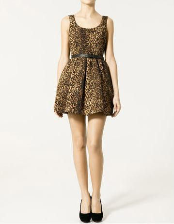 LEOPARD,PARTY,DRESS