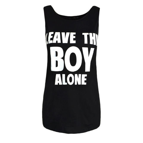 LEAVE,THE,BOY,ALONE,TEE