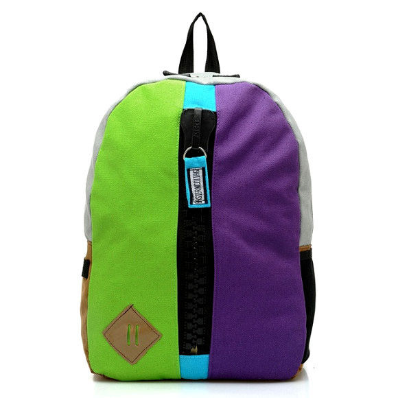 LARGE ZIP DECOR BACKPACK - product image