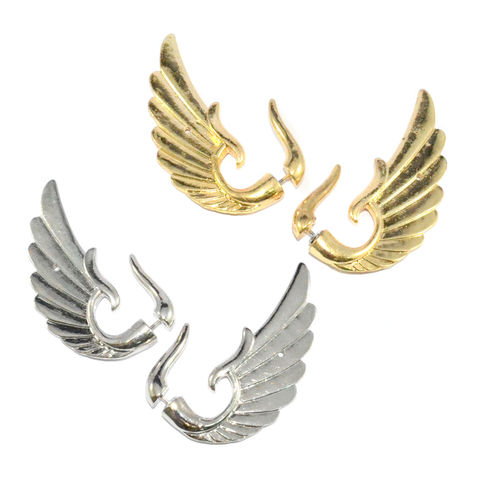 LARGE,WING,EARRINGS