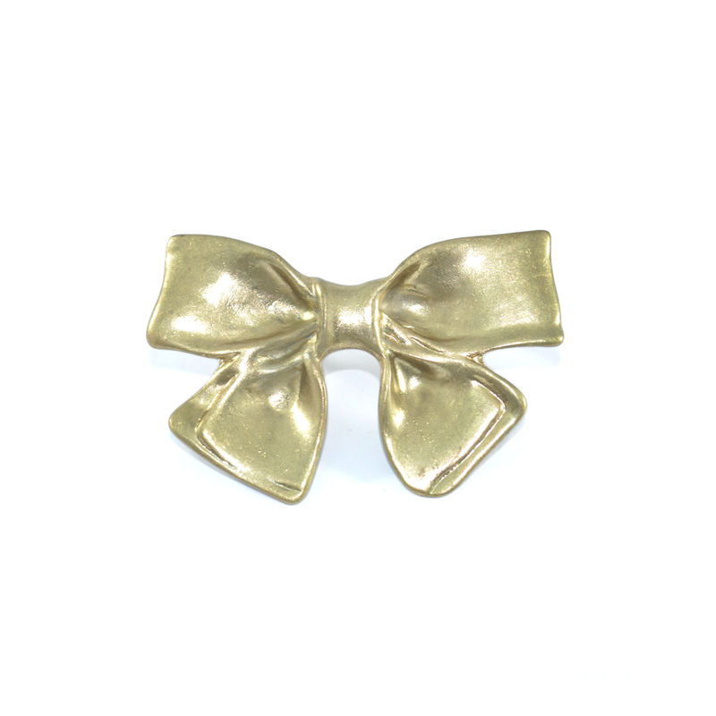 CHUNKY VINTAGE BOW DOUBLE RING - product image