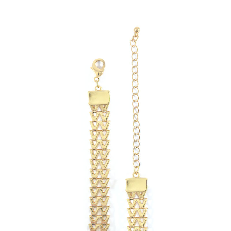 WOVEN CHAIN PENDANT NECKLACE - product image