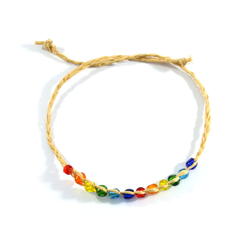 WOVEN BEADED BRACELET - product image