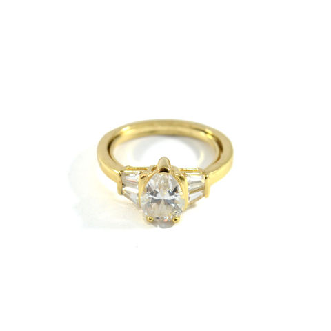 WATER,DROP,CRYSTAL,RING,crystal gold ring, gold fashion ring, cheap rings