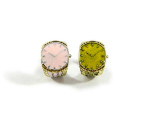 VINTAGE WATCH RING - product image