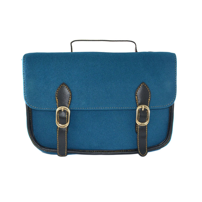VINTAGE VELVET SHOULDER BAG - product image