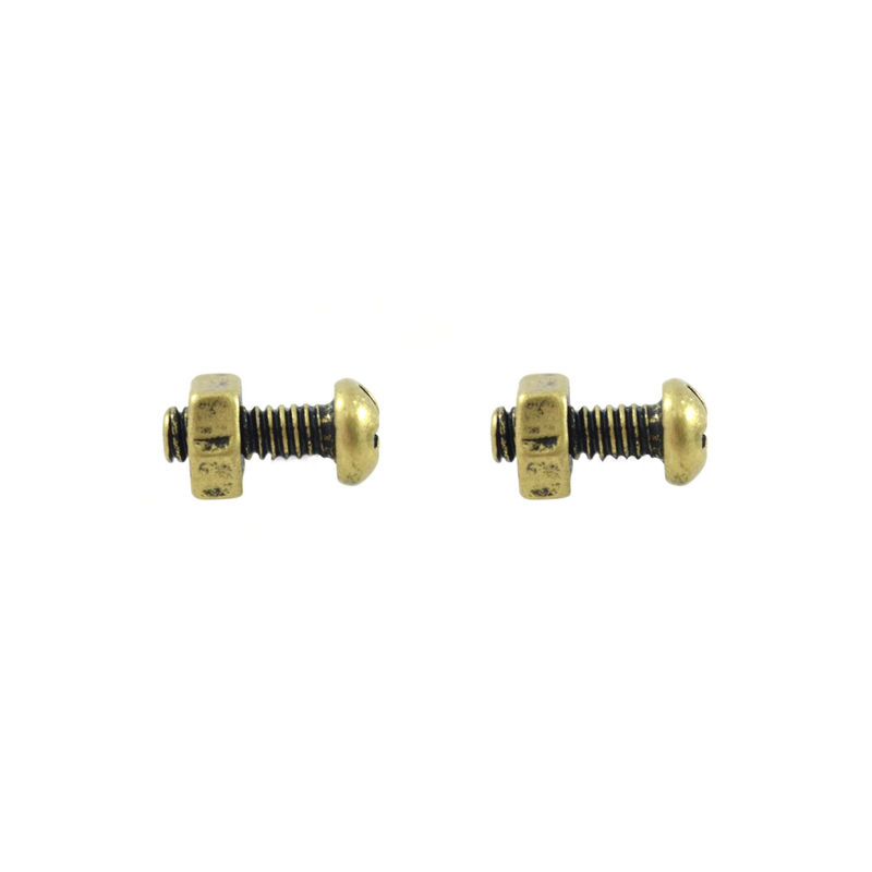 VINTAGE STYLE SCREW EARRINGS - product image