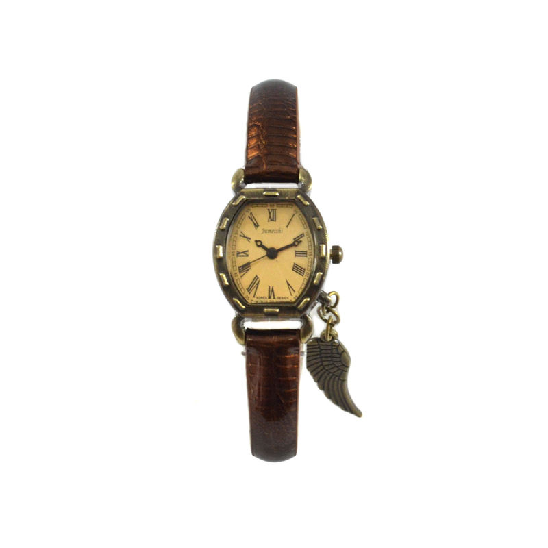 VINTAGE REPTILE SKIN WITH WING WATCH - product image