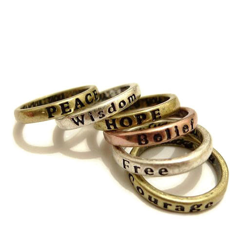 VINTAGE MAKE A WISH RING - product image