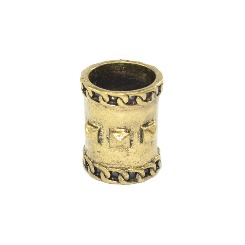 VINTAGE GOLD STUD AND CHAIN DECOR RING - product image