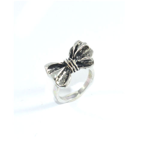plated rose gold ring adorable princess fashion for style rings girls bow p