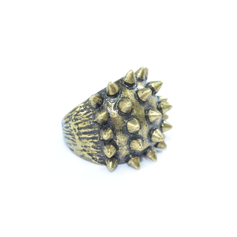 VINTAGE AND MULTI SPIKE RING - product image