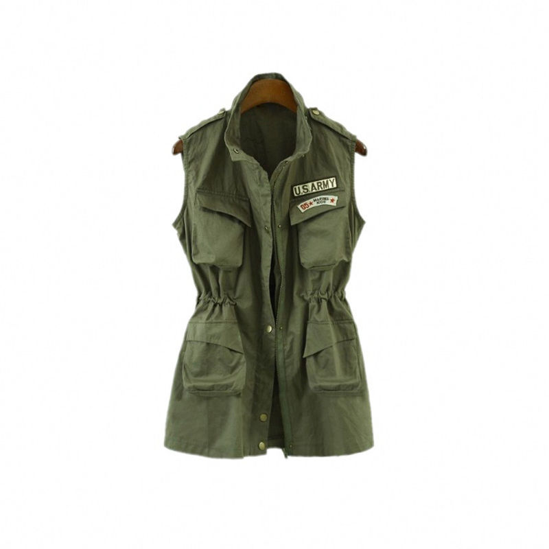 U.S. ARMY SLEEVELESS JACKET - product images
