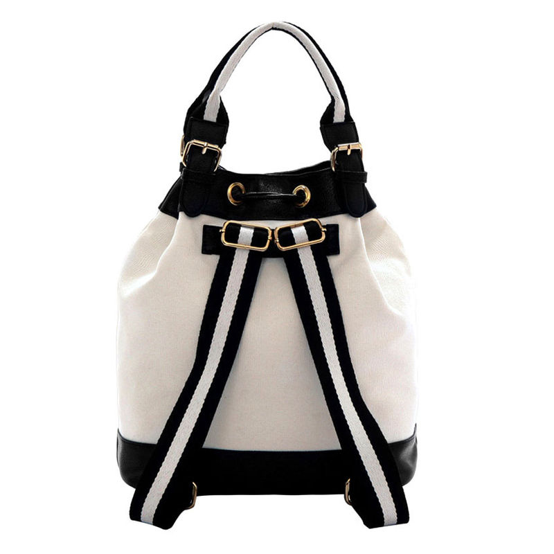 TWO TONE COLOR DRAWSTRING BAG - product image
