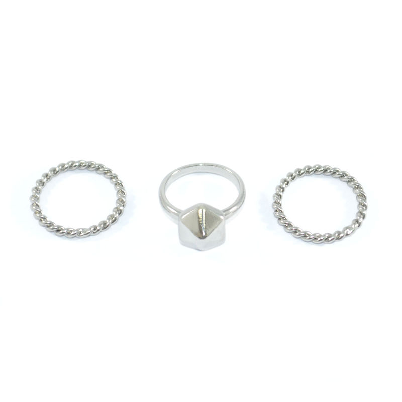 TWISTED ROPE RING SET - product image