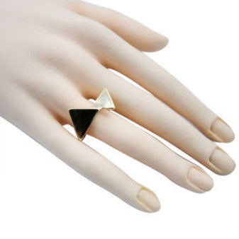 TWIST TRIANGLE RING - product image