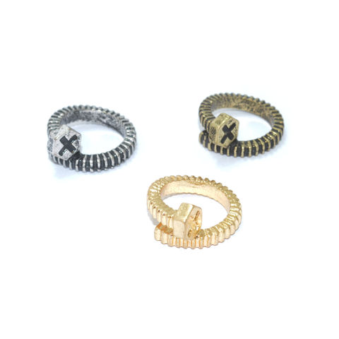 TWIST,SCREW,RING,MINI SCREW RING, SCREW FASHION RING