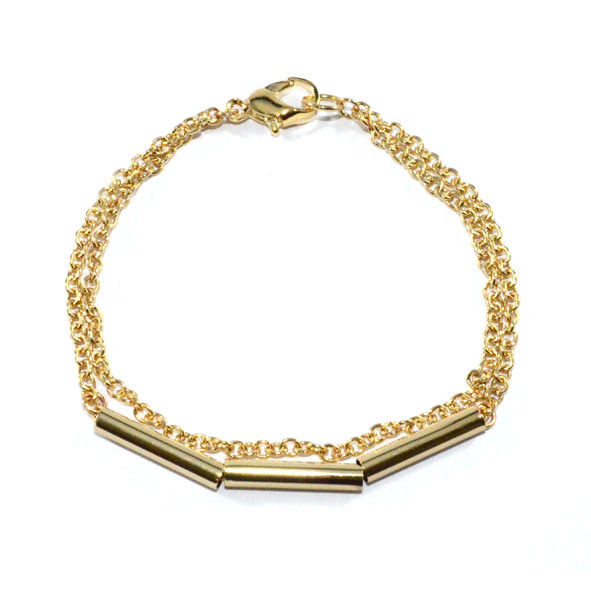 TUBE WITH CHAIN BRACELET - product image