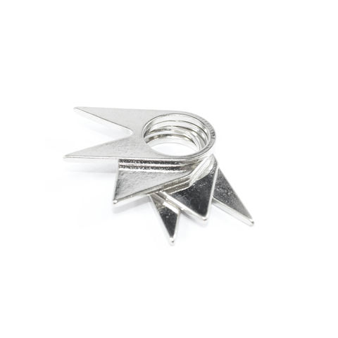 TRIANGLE,MULTI,PACK,RING,spike and triangle ring, multi triangle ring, TRIANGLE DAGGER RING