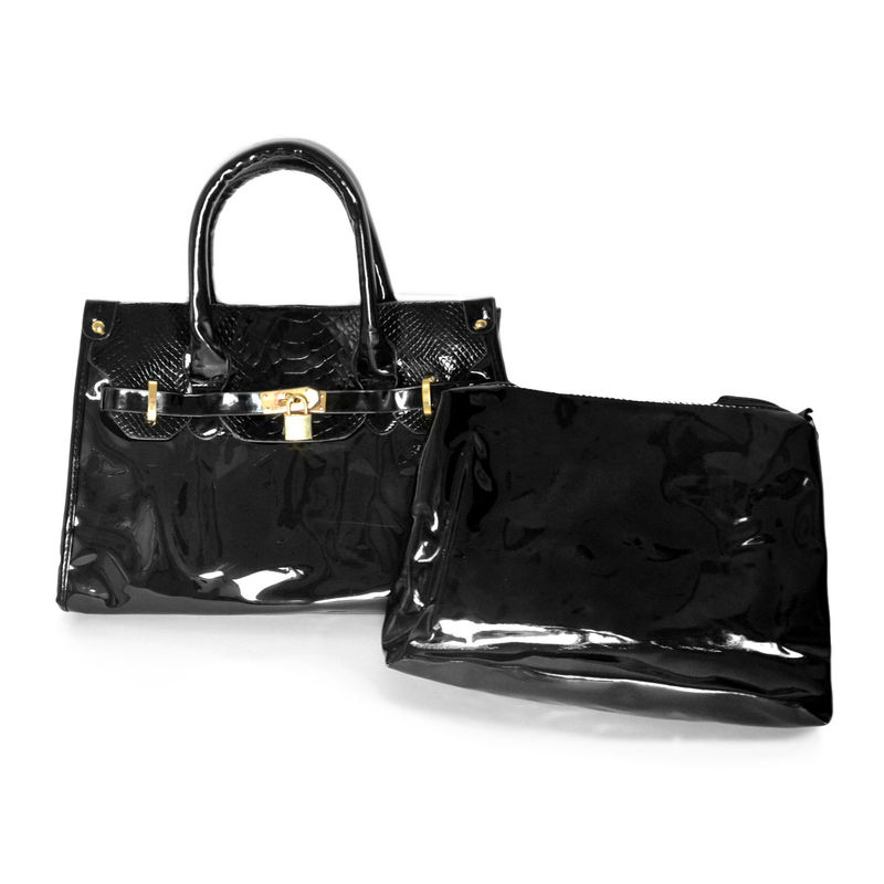 TRANSPARENT SATCHEL BAG - product image