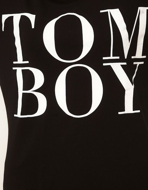 TOM BOY TEE - product image