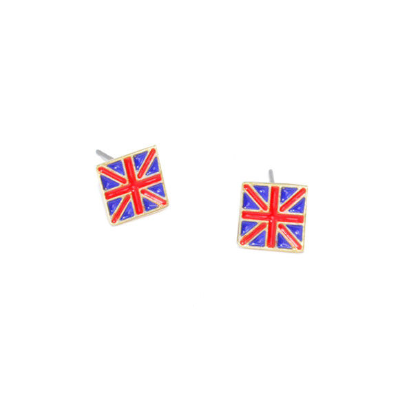THE UNITED KINGDOM FLAG EARRINGS - product image