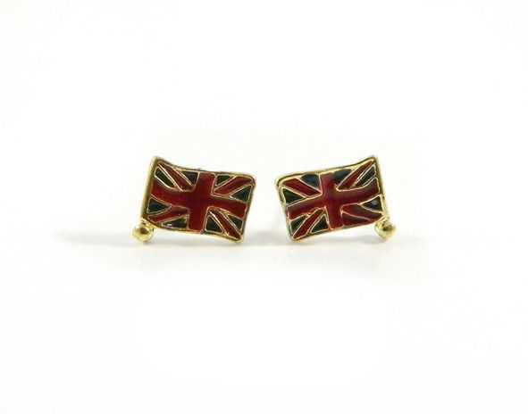 THE UK FLAG EARRING - product image