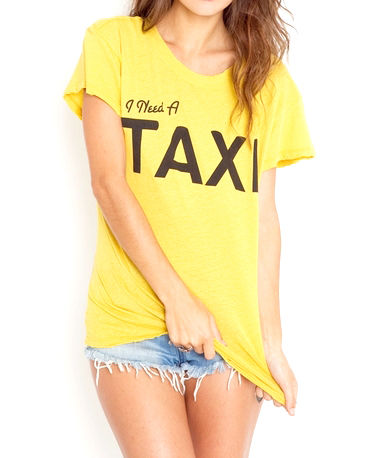 TAXI T-SHIRT - product image
