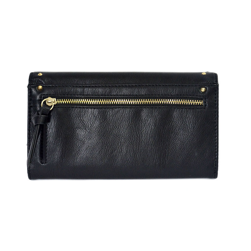 STUDDED DECOR FLAP OVER PURSE - product image