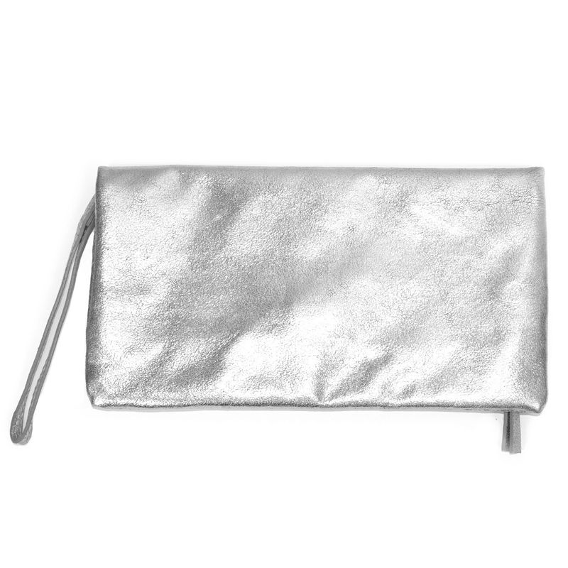 STUDDED CRACK TEXTURE CLUTCH BAG - product image