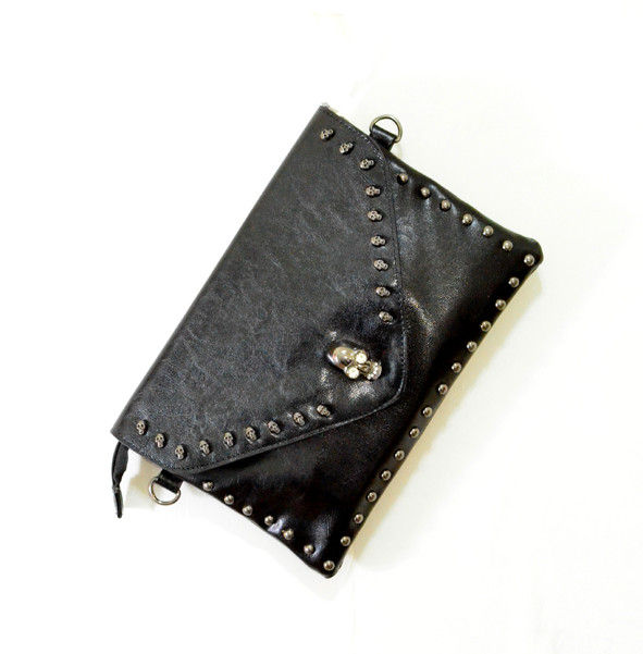 SKULL CLUTCH SHOULDER BAG - product image