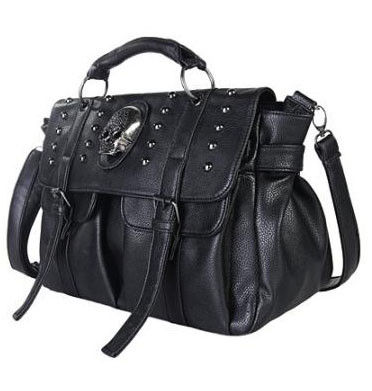 SKULL AND STUD BAG - product image