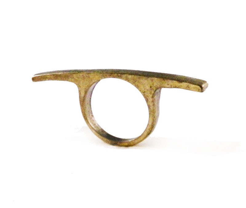 SINGLE BAR RING - product image