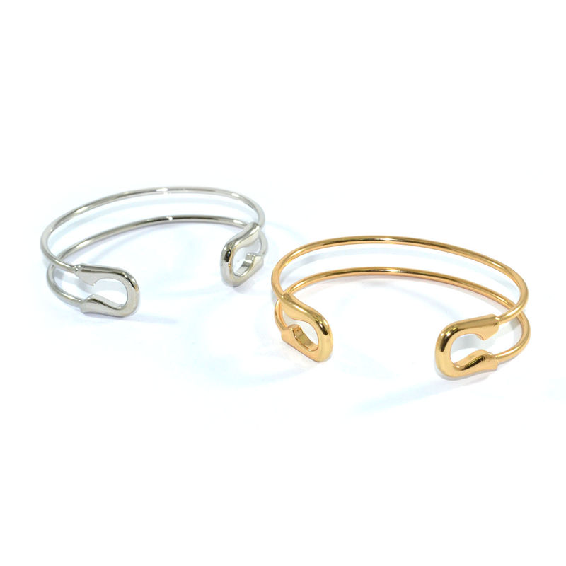 SAFETY PIN BANGLE - product image