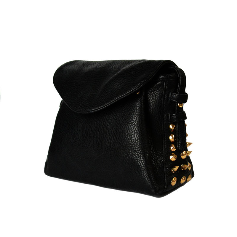 MINI GOLD STUD SHOULDER BAG - product image