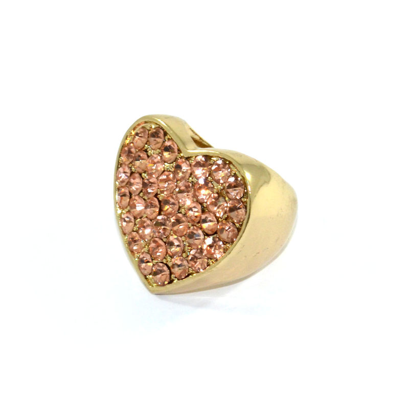 CRYSTAL HEART RING - product image