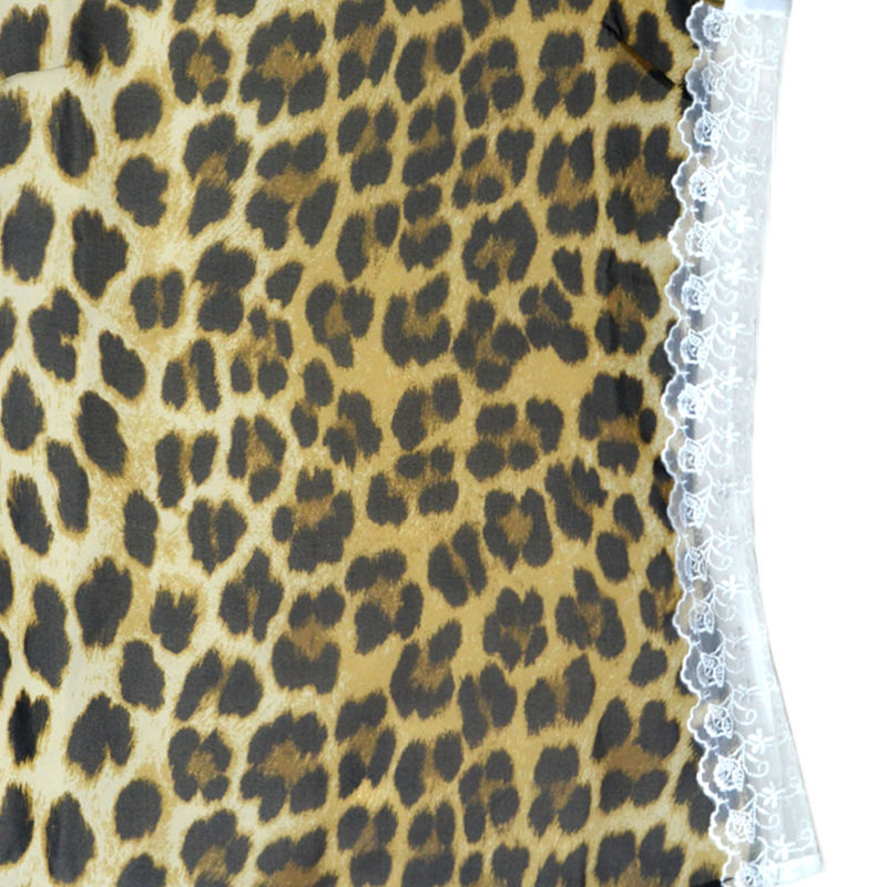 LEOPARD PRINT SLEEVELESS VEST - product image