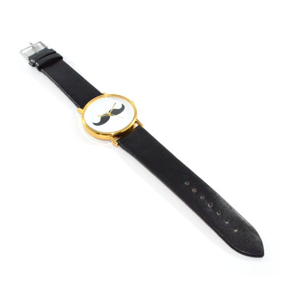 BLACK MUSTACHE WATCH 1 - product image