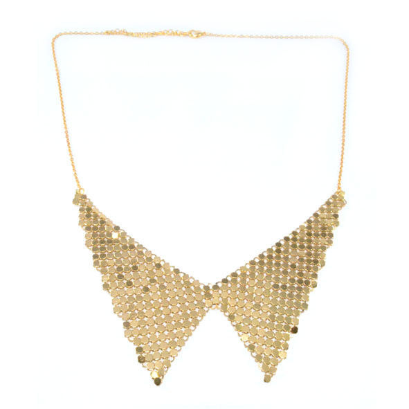 METALLIC COLLAR NECKLACE 1 - product image