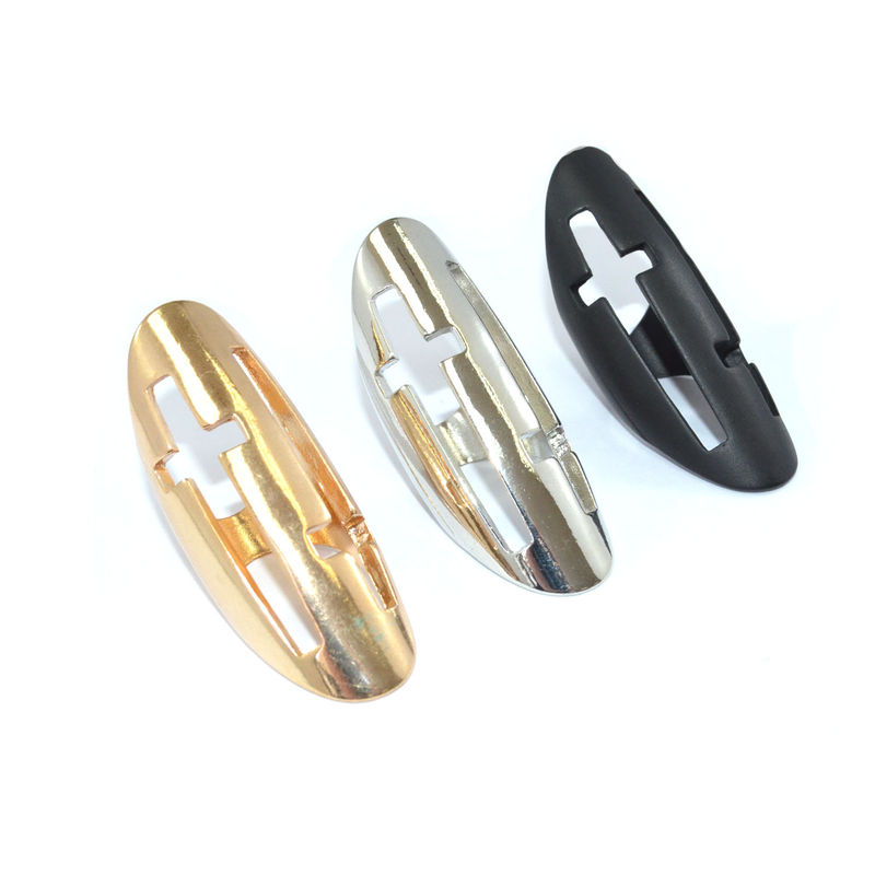 DOUBLE HOLLOW CROSS RING - product image