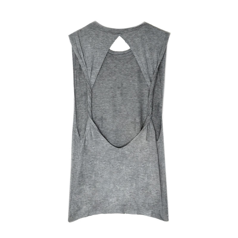 CROSS SLEEVELESS TOP - product image