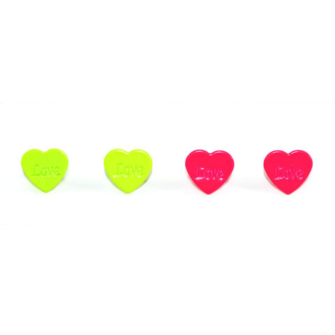 LOVE,HEART,SHAPE,EARRINGS,HEART EARRINGS, NEON HEART EARRINGS, LOVE EARRINGS, LOVE HEART EARRINGS